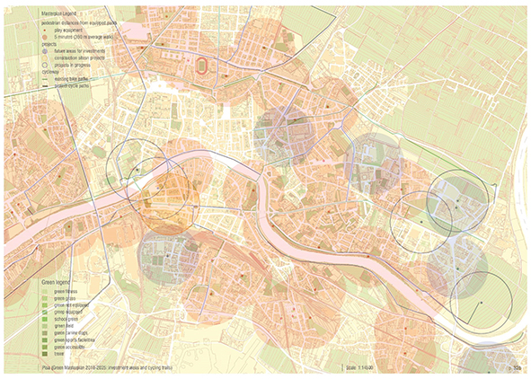 Reworking of the Green Masterplan in Pisa. AGATHÒN 06 | 2019