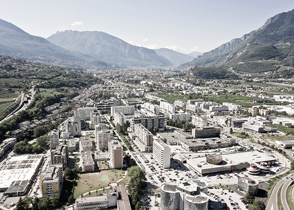 Trento and the settlement system of the valley. AGATHÒN 06 | 2019