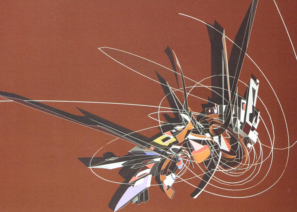 Zaha Hadid, 'The Great Utopia', 1992 (credit: Guggenheim Museum, New York). AGATHÓN 7 | 2020