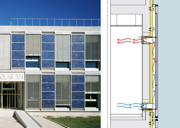 P. Cabrita, I. Diniz and L. Aelenei, 'Solar XXI – BIPV/T Systems', Lisbon, 2006 (credit: L. Alenei). AGATHÓN 7 | 2020