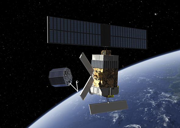 ESA Clean Space: active space debris removal (credit: ESA). AGATHÓN 08 | 2020