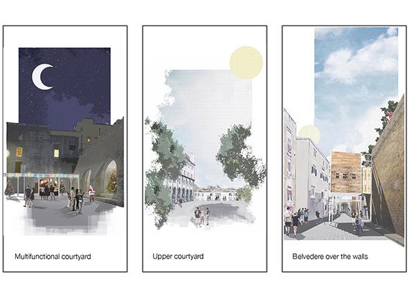 Plan scenarios by designing scenes (credit: M. Barosio and M. N. di Robilant). AGATHÓN 08 | 2020