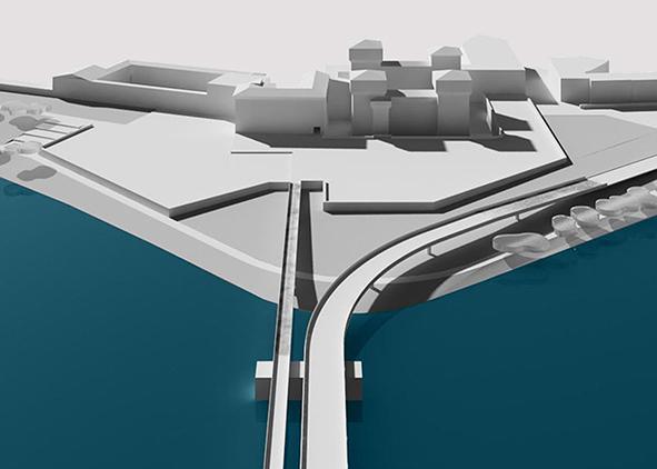 Progetto Ponte di San Giorgio, 2014 (credit: M. Camponogara, S. Farina, G. Ferriero, Q. Lu, M. Mirsafay Moqaddam, S. Sabkova)