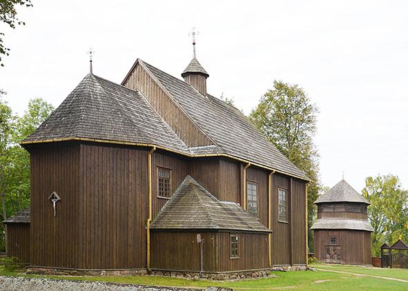 Chiesa di San Giuseppe di Palūšė (1757) in Lituania