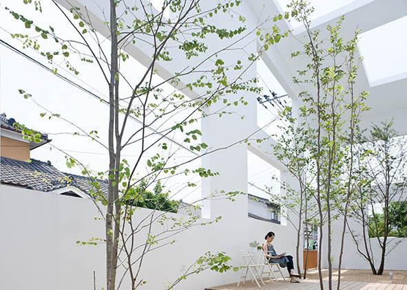 La House N di Sou Fujimoto