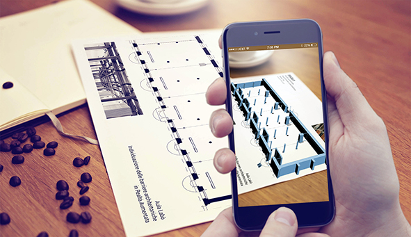 RAdARt application developed within the Department of Architecture of the Roma Tre University. agathón