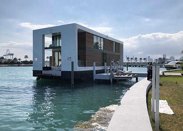 Arkup studio, Floating Home, Miami Beach (credit: G. E. Rossi). AGATHÒN 06 | 2019