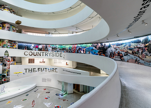 Rem Koolhaas and Samir Bantal with Troy Conrad Therrien and Ashley Mendelsohn, 'Countryside – The Future', Solomon R. Guggenheim Museum, NYC, 20/02-14/08 2020: installation view (credit: Laurian Ghinitoiu courtesy AMO, 2020); installation views (photos: David Heald; credits: Solomon R. Guggenheim Foundation). AGATHÓN 07 | 2020