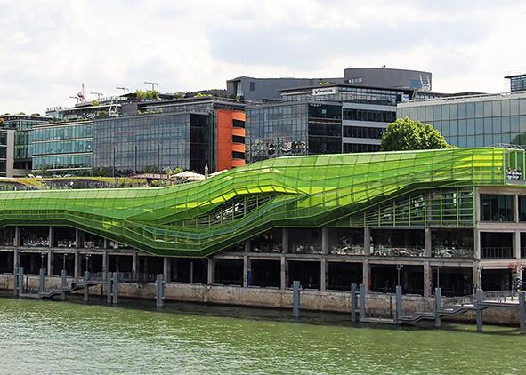 Les Docks, Cité de la Mode et du Design in Paris by Jakob and McFarlan Architects (credit: F. Romero, 2015). AGATHÓN 09 | 2021