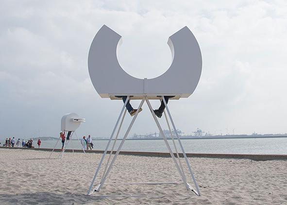 Heads in Hoek van Holland designed by R. Sweere, 2014 (credit: R. Sweere, 2014). AGATHÓN 09 | 2021