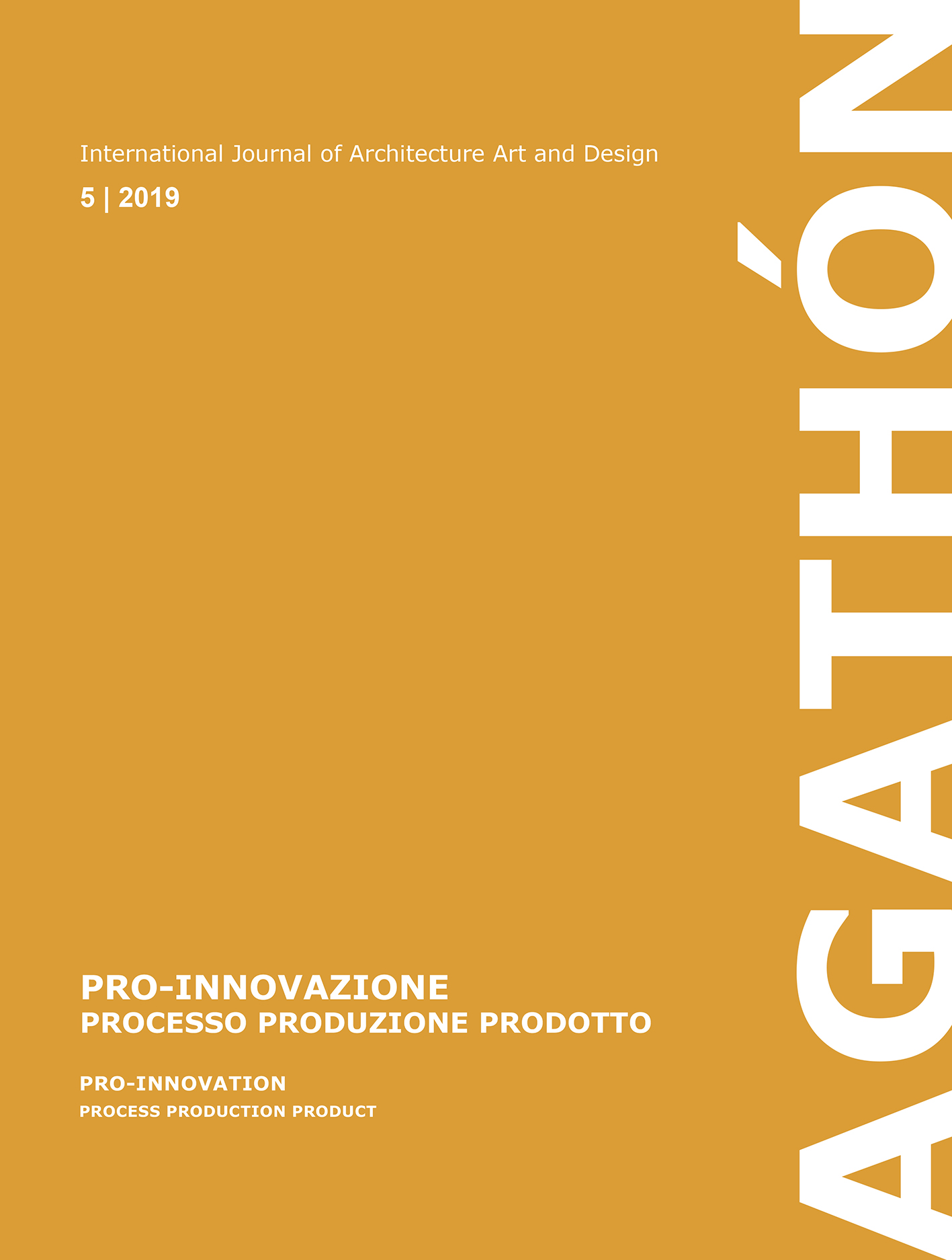 Pro-Innovazione: Processo, Produzione, Prodotto – Pro-Innovation: Process Production Product